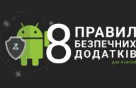 безпечні додатки для Android