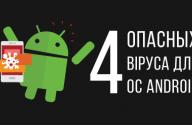 опасные вирусы для Android