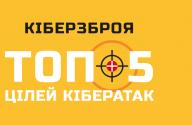 Кіберзброя ТОП-5 цілей кібератак