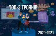 ТОП-3 троянів потужних та цікавих програм- вимагачів 2020-2021 років